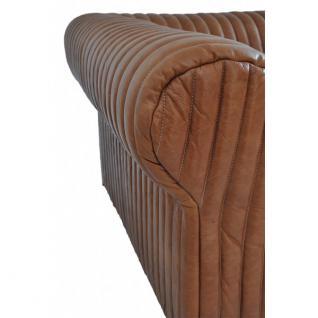 Ledersofa Columbia 3-Sitzer Vintage-Leder - Vorschau 4
