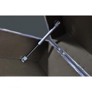 Schranktruhe TomCat Big Aluminium Vintage Leder - Vorschau 3