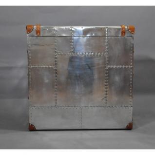 Schranktruhe TomCat Big Aluminium Vintage Leder - Vorschau 5
