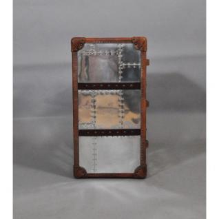 Schubladenschrank TomCat 3 Aluminium Vintage-Leder - Vorschau 3
