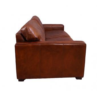 Loungesofa Durban 3-Sitzer Vintage-Leder - Vorschau 3