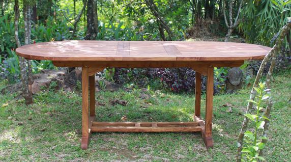 "Tisch ""Capri"" 160 cm, Teakholz - Vorschau 1"