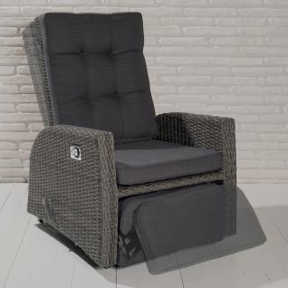 polyrattan sessel grau online bestellen bei yatego. Black Bedroom Furniture Sets. Home Design Ideas