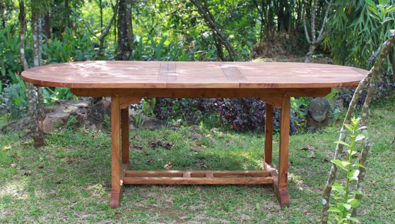 tisch capri 180 cm teakholz kaufen bei mehl wohnideen. Black Bedroom Furniture Sets. Home Design Ideas