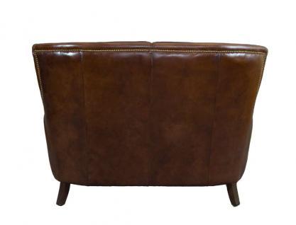 Clubsofa Lewes 2-Sitzer Vintage Cigar Leder - Vorschau 4
