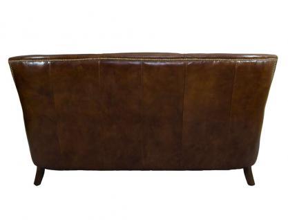 Clubsofa Lewes 3-Sitzer Vintage Cigar Leder - Vorschau 5