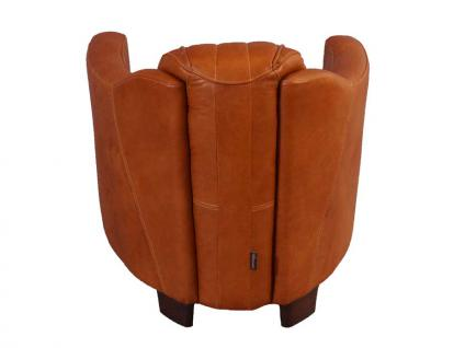 Clubsessel Rocket Delvin Columbia Brown Vintage Leder - Vorschau 4