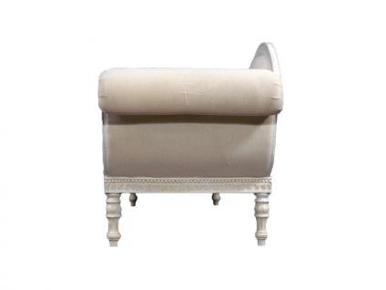 Recamiere mit Schwanendekor in weiß Ottomane Chaiselounge - Vorschau 5
