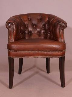 Clubsessel Swindon Chesterfield Vintage Cigar - Vorschau 2