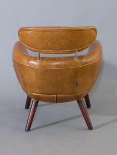 Designsessel Swinford Vintage Leder Columbia Brown - Vorschau 4