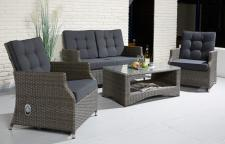 Loungegruppe Sienna cubu grey
