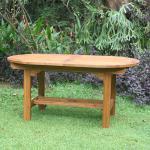 Gartentisch Korsika 160 cm Teakholz Tisch Holztisch Teak