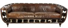 Clubsofa Banbury 3-Sitzer Vintage-Leder Kuhfell