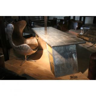 Schreibtisch Planetable Aluminium - Vorschau