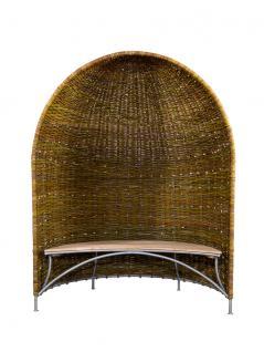 Weidenmuschel mit Sitzbank - Vorschau 2