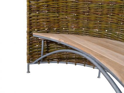 Weidenmuschel mit Sitzbank - Vorschau 4