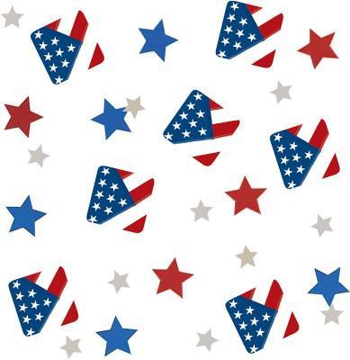 USA Party Konfetti Mix