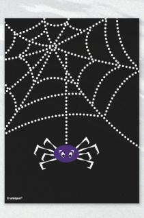 50 Halloween Mini Tütchen Spinnen Netz