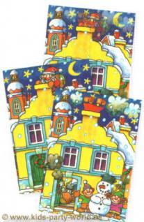 Wackelbild Postkarte Bescherung