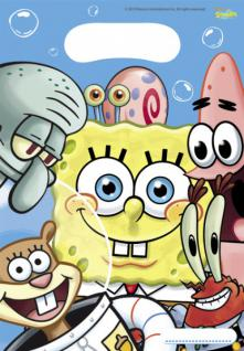 6 Spongebob Party Mitgebsel Tüten
