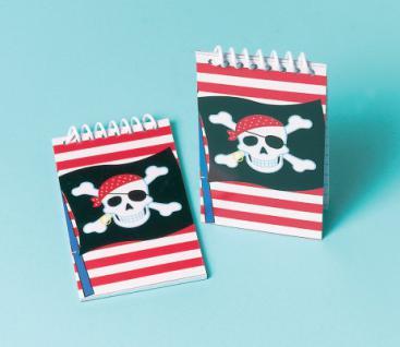 12 Piraten Notiz Blöcke