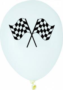 6 Luftballons Zielflagge