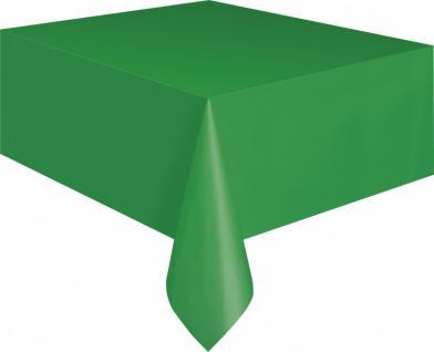 Plastik Tischdecke Gras Grün