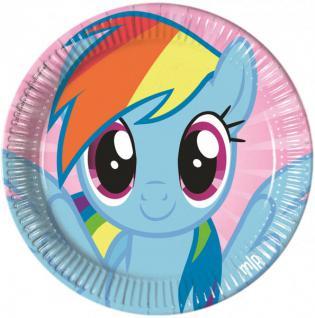 8 Teller My little Rainbow Pony