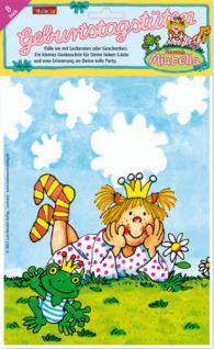 8 Geburtstagstüten Prinzessin Miabella