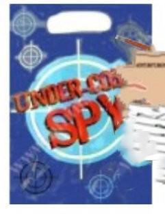 8 Party Tüten Spion