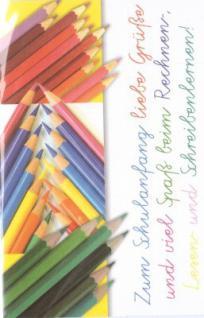 Glückwunschkarte Einschulung 005