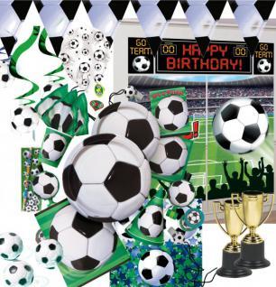Fußball Party Deko Basic Artikel Set