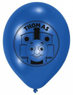 6 Thomas Eisenbahn Ballons