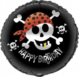 Piraten Spaß Geburtstags Folienballon