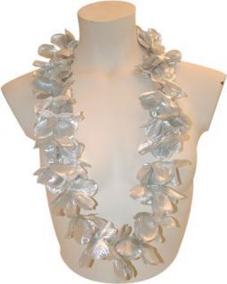 Hawaii Kette Blumenketten Silber