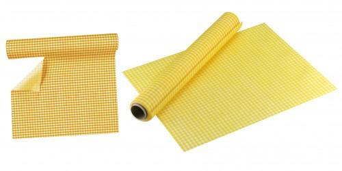 Sommer Party Tischläufer gelb