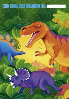 8 Dinosaurier Party Tüten