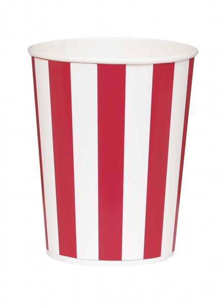 4 Popcorn Becher