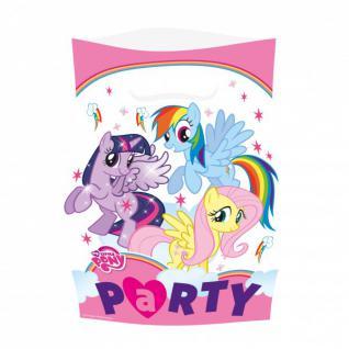 8 Party Tüten My little Pony Rainbow