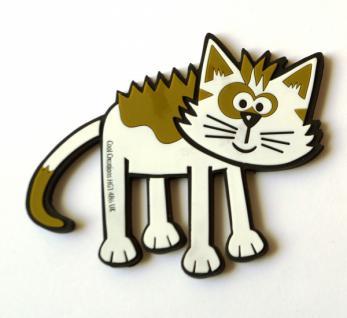 Kleine Katze - Kool Cats - Glasuntersetzer