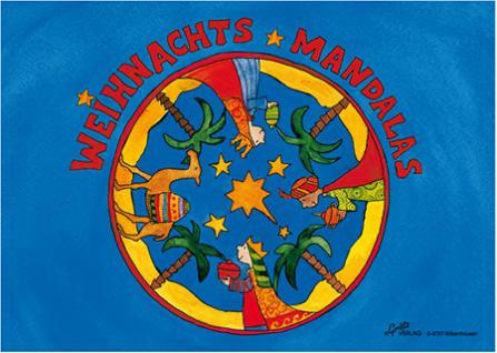 Weihnachts Mandalas Malbuch