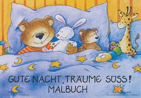 Gute Nacht Malbuch