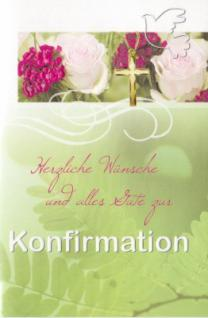 Glückwunschkarte Konfirmation 004