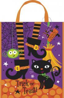 Halloween Sammel Tasche Schwarze Katze