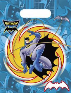 6 Batman Party Tüten