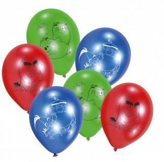 6 Angry Birds Movie Luftballons