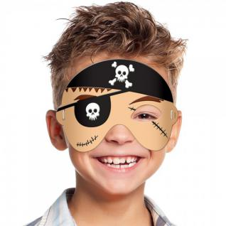 Piraten Moosgummi Maske