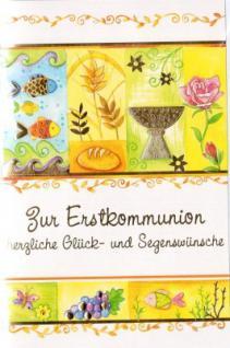 Glückwunschkarte Kommunion 008