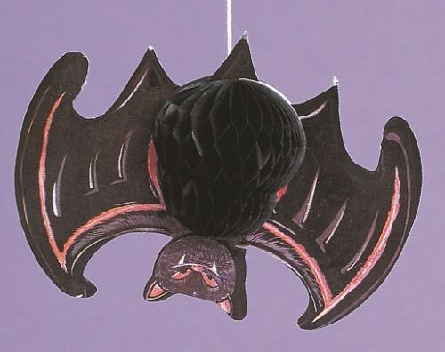 4 hängende Fledermäuse