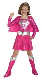 Supergirl Pink Kostüm Set